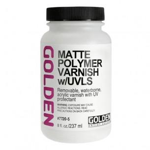 Matte Polymer Varnish With UVLS (237ml)