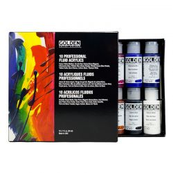 Professional Fluid Acrylic Set (10 x 30ml)