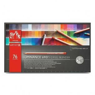 Luminance 6901 Pencil Set of 76 + 2 Blenders