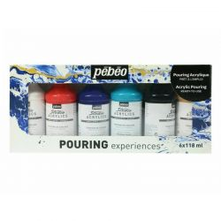 Pouring Experiences Studio Acrylic Paint Set (6 x 118ml)