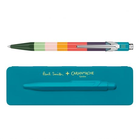 Paul Smith Limited Edition Ballpoint Pen: Peacock Blue