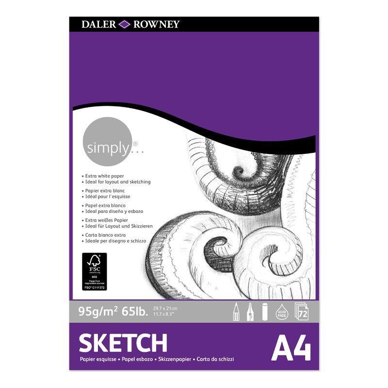 Simply Sketch Pad (A4)
