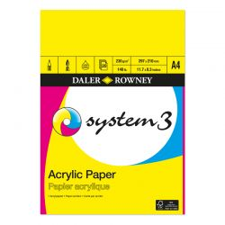 System 3 Acrylic Paper Pads