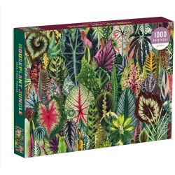 Phat Dog Houseplant Jungle 1000 Piece Foil Stamped Puzzle