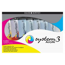 System 3 Acrylic Jumbo Selection (8 x 150ml)