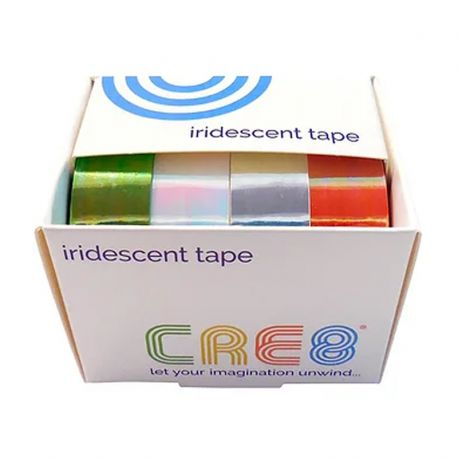 CRE8 Iridescent Tape Set of 4 Colours