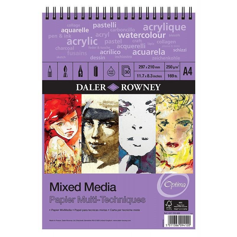 Mixed Media Spiral Pads