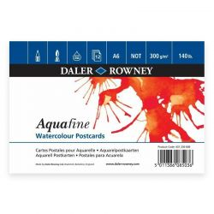 Aquafine Watercolour Postcard Pad