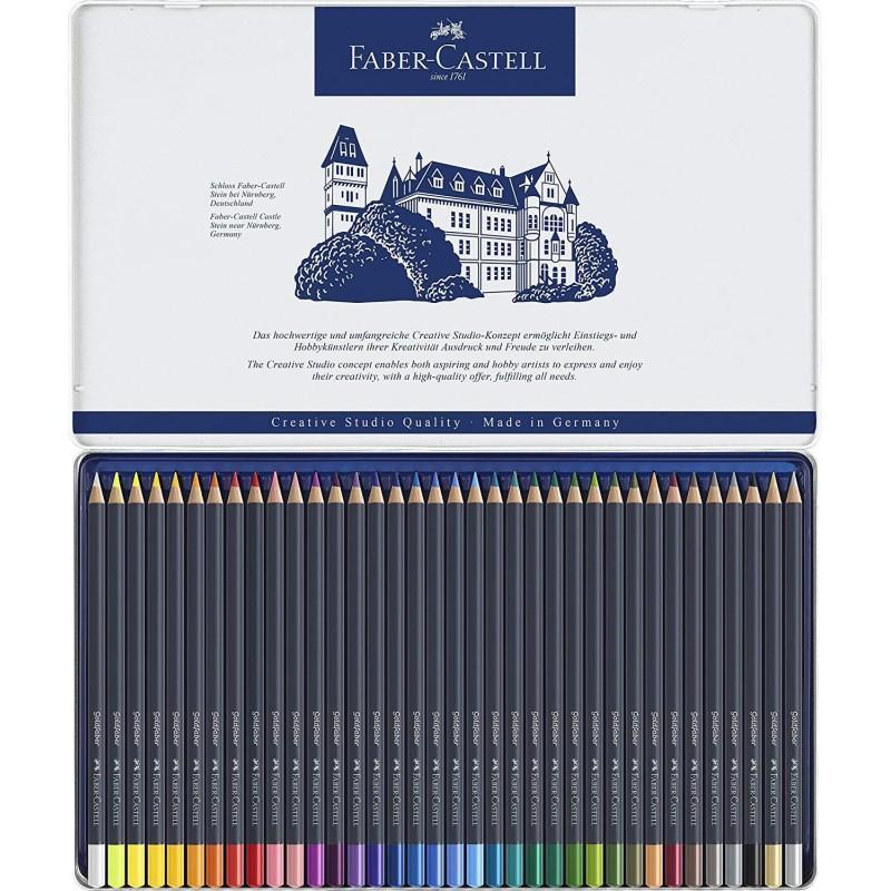 Goldfaber Colour Pencil Metal Tin of 36