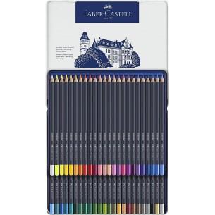 Goldfaber Colour Pencil Metal Tin of 48