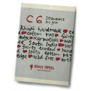 White Rag Envelopes (Pack of 20)