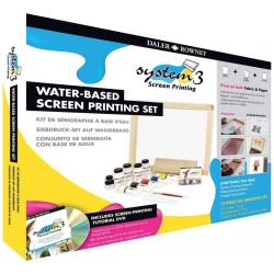 System 3 Water-Based Acrylic Screen Printing Set