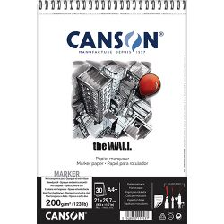 Canson The Wall A4+ Pad (200gsm)