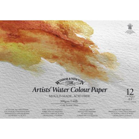 Artist Watercolour Gummed Edge Pad