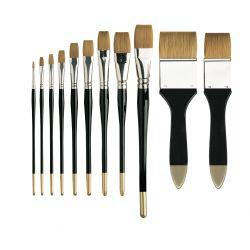 Series 106 Prolene One Stroke Flat Brushes