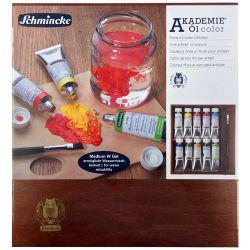 Akademie Oil Wooden Box 9 x 60ml