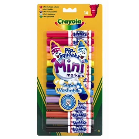 Crayola Pip-Squeaks Mini Markers (Pack of 14