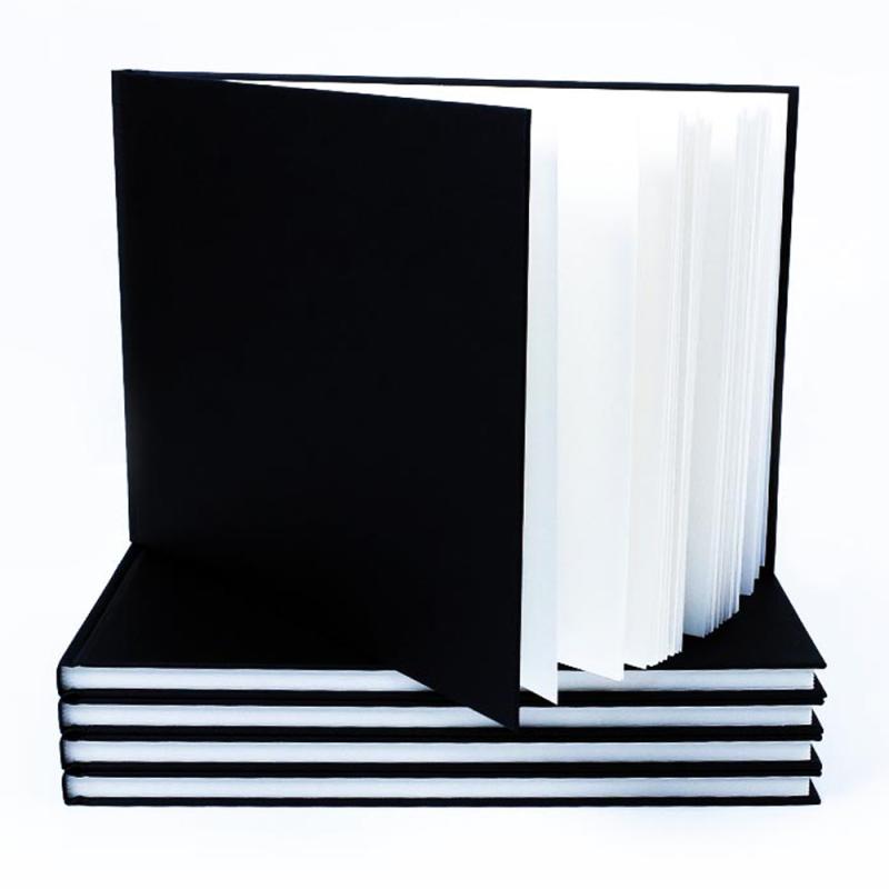 Black Cloth Hardback Sketchbook