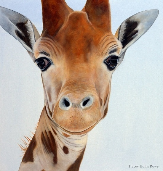 Tracey Hollis Rowe Artwork Sweet Thing Giraffe