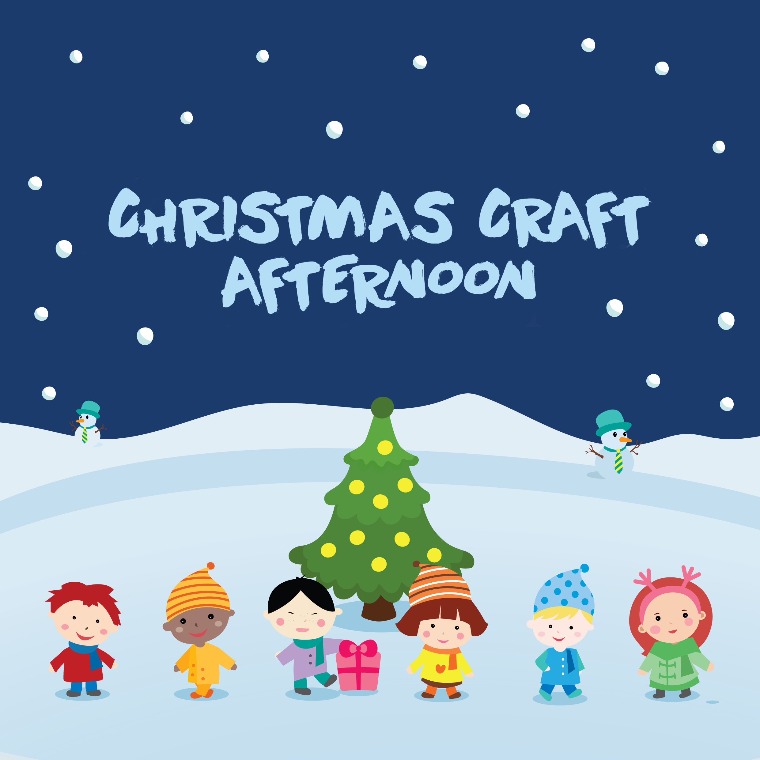 Join Us For An Afternoon of Christmas Crafts
