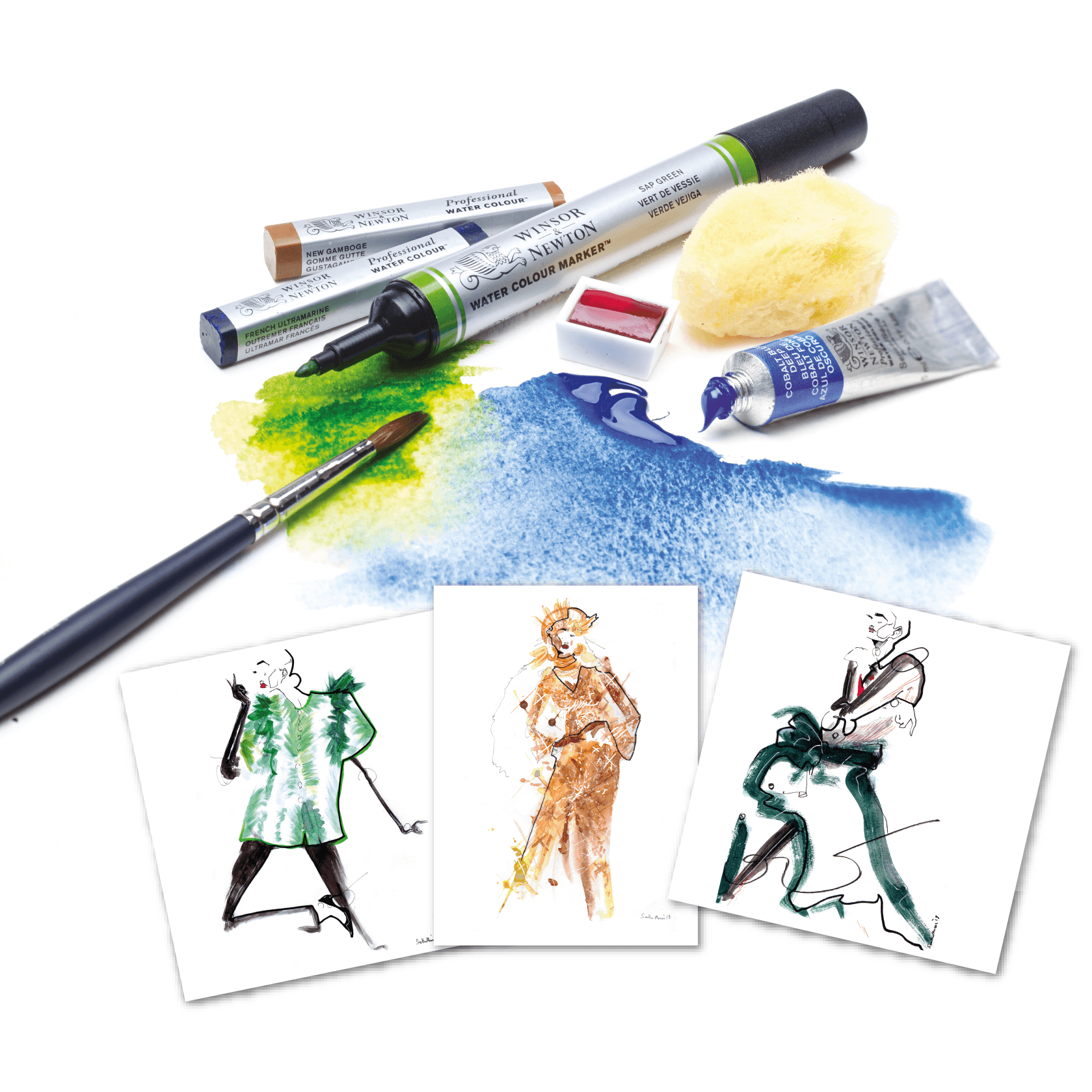 Test The Best Professional Water Colour