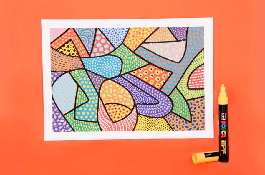 Upcycling With Posca Paint Markers Cowling Wilcox Blog