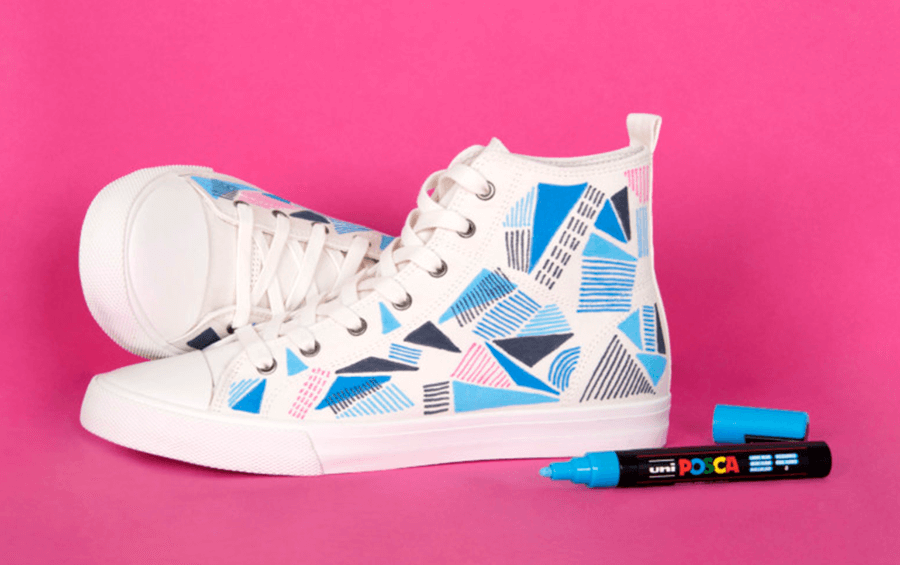 Upcycling With POSCA Paint Markers - Cowling & Wilcox Blog