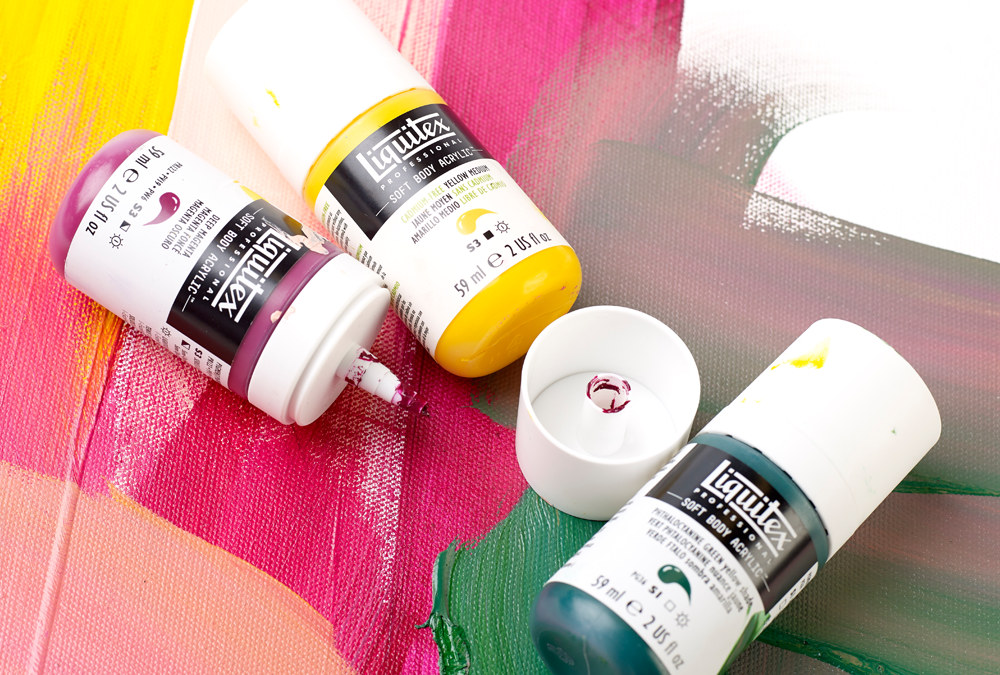 Liquitex Soft Body: The Original Acrylic, Redesigned