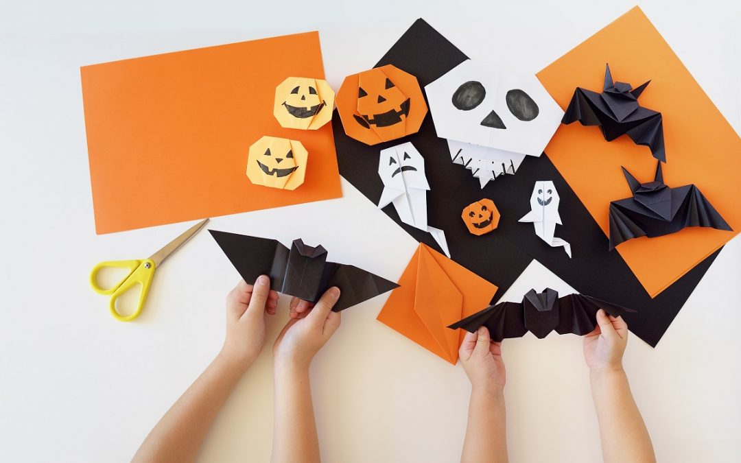 Origami Halloween Decoration Ideas