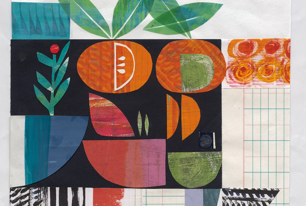 How to Make an Abstract Collage